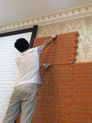 Faux Brick Panel