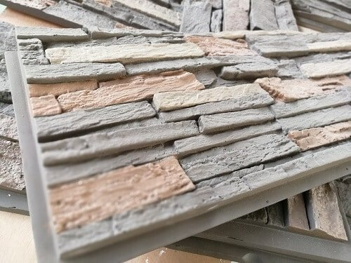 easy install faux stone panel